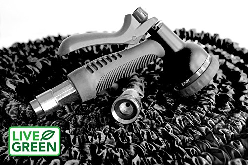 Black Expandable Garden Hose by Live Green | Customer Warran