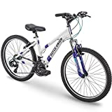 24' Royce Union RTT Womens 21-Speed Mountain Bike, Aluminum Frame, Trigger Shift, White