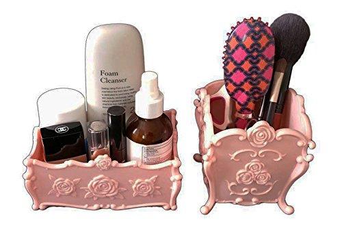 Decorative Makeup organizer, Acrylic Cosmetic Display Box...
