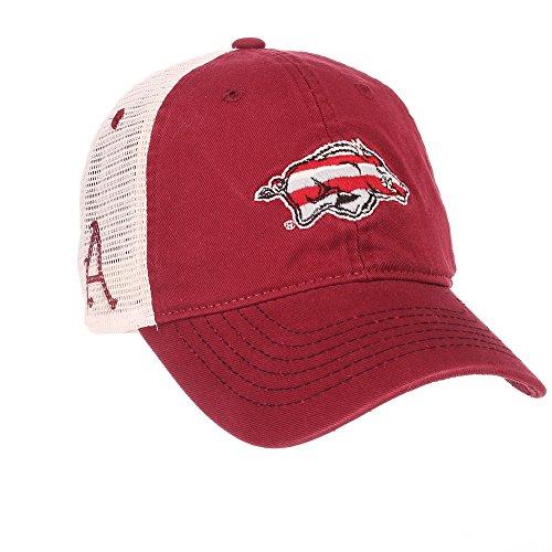 Elite Fan Shop Arkansas Razorbacks Trucker Hat - Adjustable - - Razorbacks Fan Arkansas