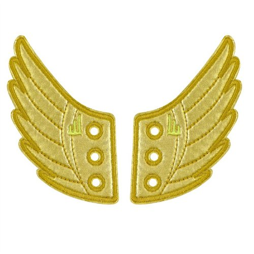 Shwings Windsor Foil Lace In Wings For Shoes (Gold) Shwings-8/14-35