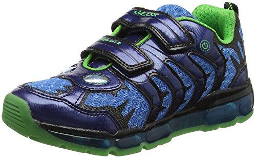 Geox Boys J Android B Low-Top Sneakers, Blue (Navy), 9 UK (27 EU) ()