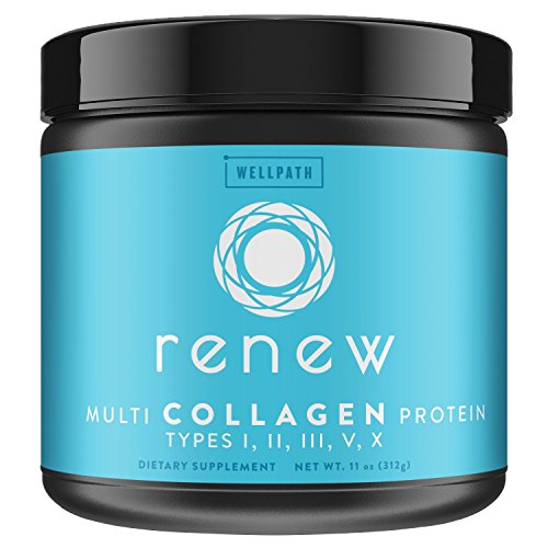 RENEW Multi Collagen Protein Powder - Premium Blend of Hydrolyzed Grass-Fed Bovine