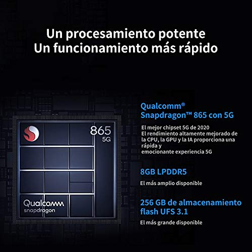 Celular Xiaomi Mi 10T 128GB 8GB Ram 5G - Cosmic Black…
