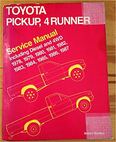 Amazon toyota pickup 4runner service manual including diesel toyota pickup 4runner service manual including diesel and 4wd 1978 1987 fandeluxe Choice Image