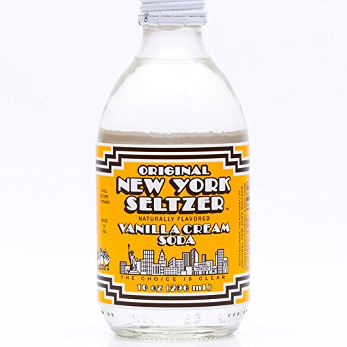 (Original New York Seltzer Vanilla Cream Soda, 10-Ounce Glass Bottles (Pack of 12))