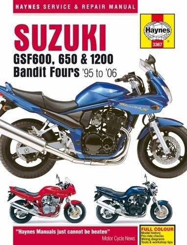 Suzuki: GSF600, 650 & 1200 Bandit Fours '95 to '06 (Haynes Service & Repair Manual)