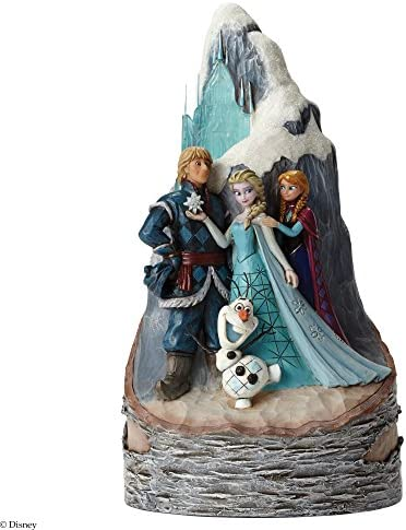 Jim Shore for Enesco Disney Traditions Frozen Carved by Heart Figurine, 9