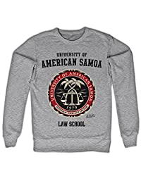 Better Call Saul Sweatshirt American Samoa Law School new Official Mens Grey