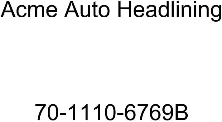 1970 Buick Lesabre 2 Door Hardtop 5 Bow Acme Auto Headlining 70-1110-6769B Black Replacement Headliner