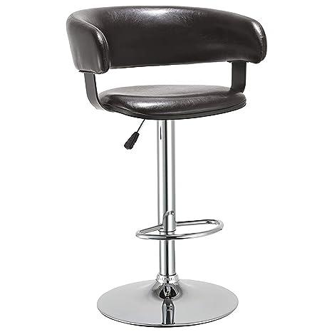 Outstanding Amazon Com Duhome Elegant Lifestyle Bar Stools Adjustable Machost Co Dining Chair Design Ideas Machostcouk