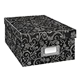 Pioneer Photo Albums Photo Storage Box, Chalkboard Floral Design, Chalkboad