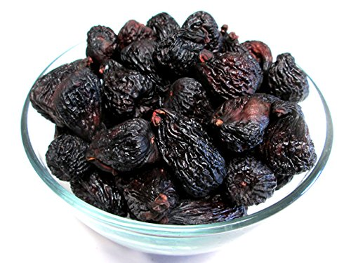 Organic Dried Black Mission Figs,1 pound, US Grown (Dried Black Mission Figs)