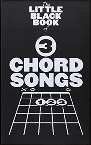 The Little Black Book Of 3 Chord Songs 1 Amazon Various Books