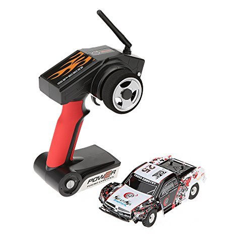Original WLtoys K999 1:28 2.4G 4CH RTR Off-Road Remote Control RC Car High-speed 30km/h Alloy Chassis Structure