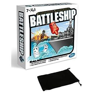 Classic Battleship Board Game Bundle with Drawstring Bag
