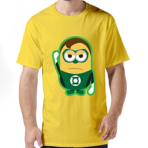 ZHUYOUDAO Men's Marvel's The Avengers Hulk Despicable Me Minions100% Cotton T-Shirt
