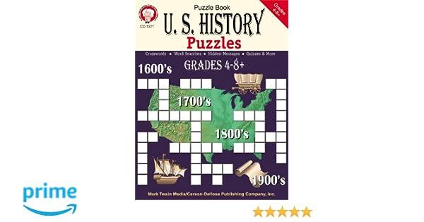 Amazon.com: U.S. History Puzzles, Grades 4 - 8 (9781580371506 ...