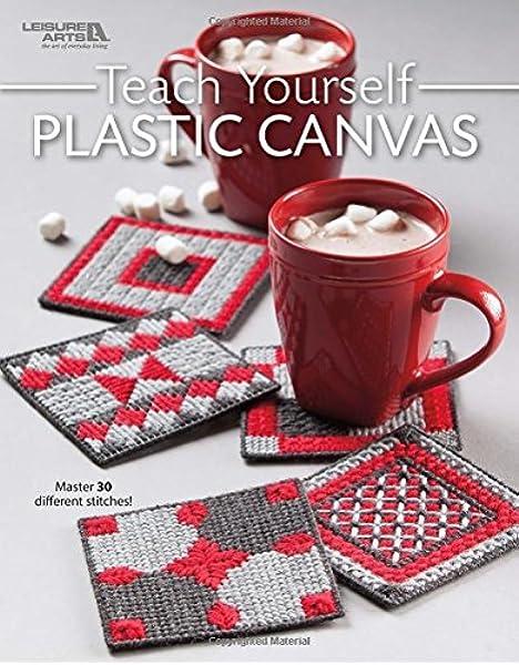 Vintage Plastic Canvas Book \u201cFirst Steps In Plastic Canvas\u201d