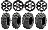 "Bundle - 9 Items: ITP SS212 14"" Wheels Black 28"" Mud Lite..."