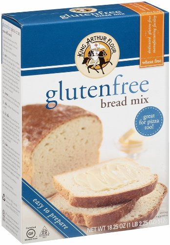 King Arthur Flour Bread Mix Gluten Free 1825 Ounce Packages Pack of 3