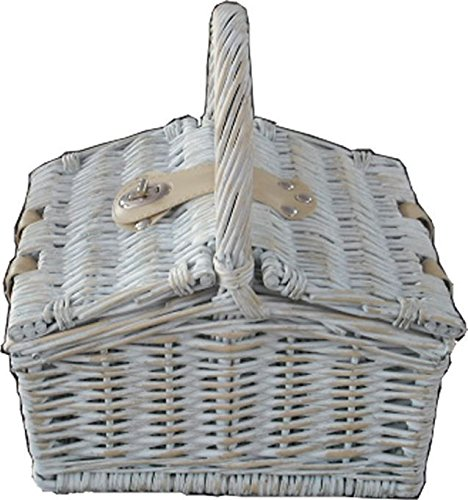 Provence Mini Farmhouse Empty Picnic Basket ()
