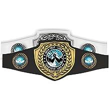"""Custom Text Arm Wrestling Champion Award Belt 52"""" Black or White"""