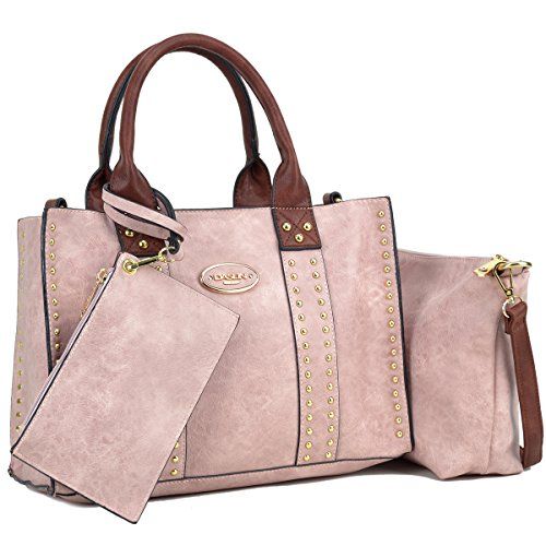 Top Designer Handbag - Women Designer Vegan Leather Handbags Fashion Satchel Bags Shoulder Purses Top Handle Work Bags