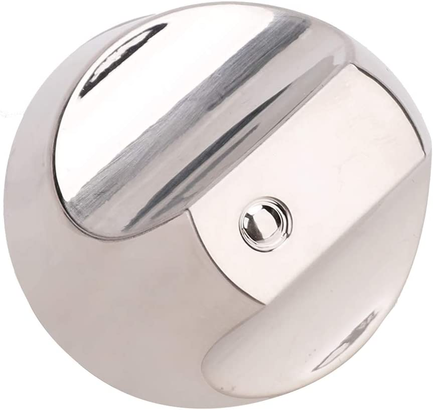 WB03T10329 WB03X25889 Range Burner Control Knob for GE Cafe Series. Range/Stove/Cooktop Knob Upgraded with Metal Guard Ring. Replace Parts WB03T10329, WB03X25889, WB03X32194, 4920893