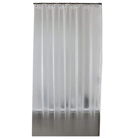 CPSH Cortina de baño, Libre de Cortinas de baño Gruesas y Perforadas, evite la