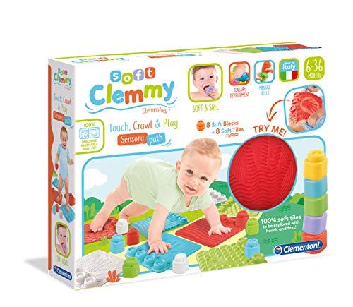 Clementoni – Soft Sensoriels Clemmy baby-kinderzitje, 10 maanden en ouder, 17352, meerkleurig