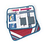Tech Candy Criss Cross Caddy - Road Trip Organizer Stop Sign Sapphire
