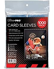 Ultra Pro Clear Card Sleeves for Standard Trading Cards