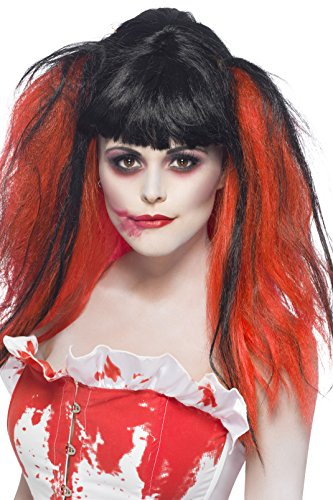 Smiffys Women's Blood Drip Bunches Wig]()