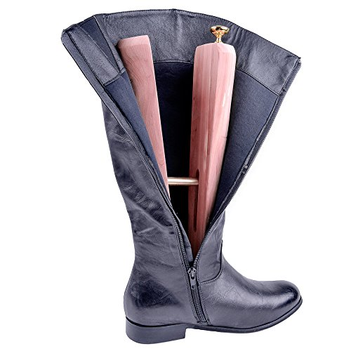 FootFitter Aromatic Cedar Boot Shapers- Keep Boots Standing Up and Prevent Creasing by FootFitter (Image #2)
