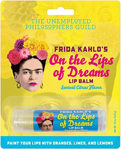 The Unemployed Philosophers Guild Frida Kahlo's On The Lips of Dreams Lip Balm - Made in The USA