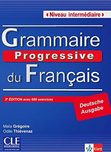 Grammaire Progressive du Français - Niveau intermédiaire: Buch mit Audio-CD