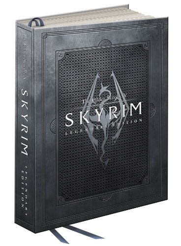 Elder Scrolls V: Skyrim Legendary Collector's Edition: Prima Official Game Guide (Hardcover)-cover