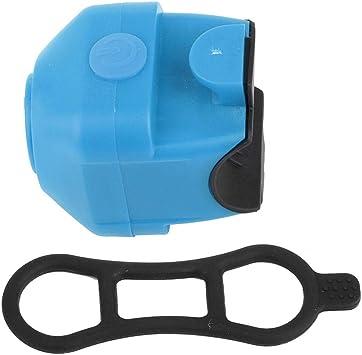 Cuerno de Bicicleta,Alarma de Manillar de Bicicleta Timbre de Ciclismo Eléctrico Timbre Ultra Ruidoso Alarma de Seguridad Campana Antirrobo para Bicicleta de Carretera de Montaña(Azul): Amazon.es: Deportes y aire libre