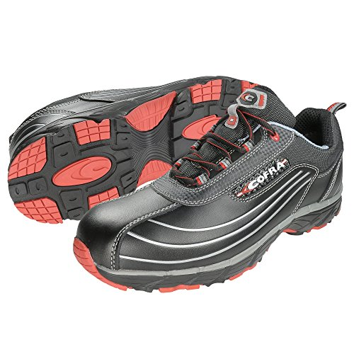 Cofra New Devil S3 SRC Paire de Chaussures de sécurité Taille 44 Noir