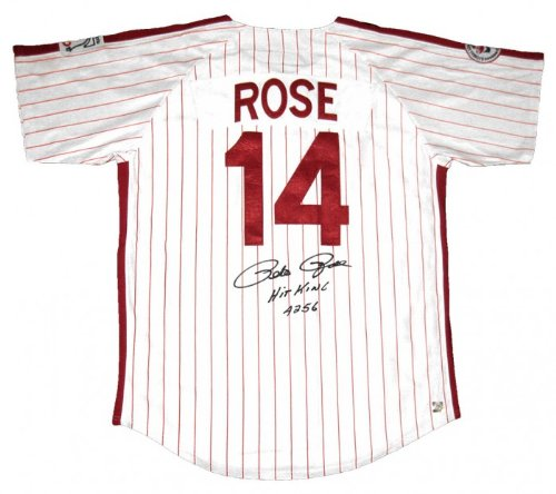 (Pete Rose Signed Philadelphia Phillies Jersey