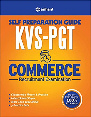 KVS PGT Commerce Self Prepration Guide