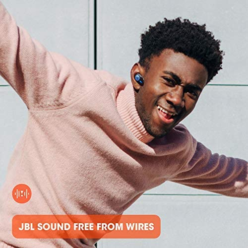 JBL Tune 125TWS True Wireless In-Ear Headphones - JBL Pure Bass Sound, 32H Battery, Bluetooth, Fast Pair, Comfortable, Wireless Calls, Music, Native Voice Assistant, Android and iOs Compatible (Black)