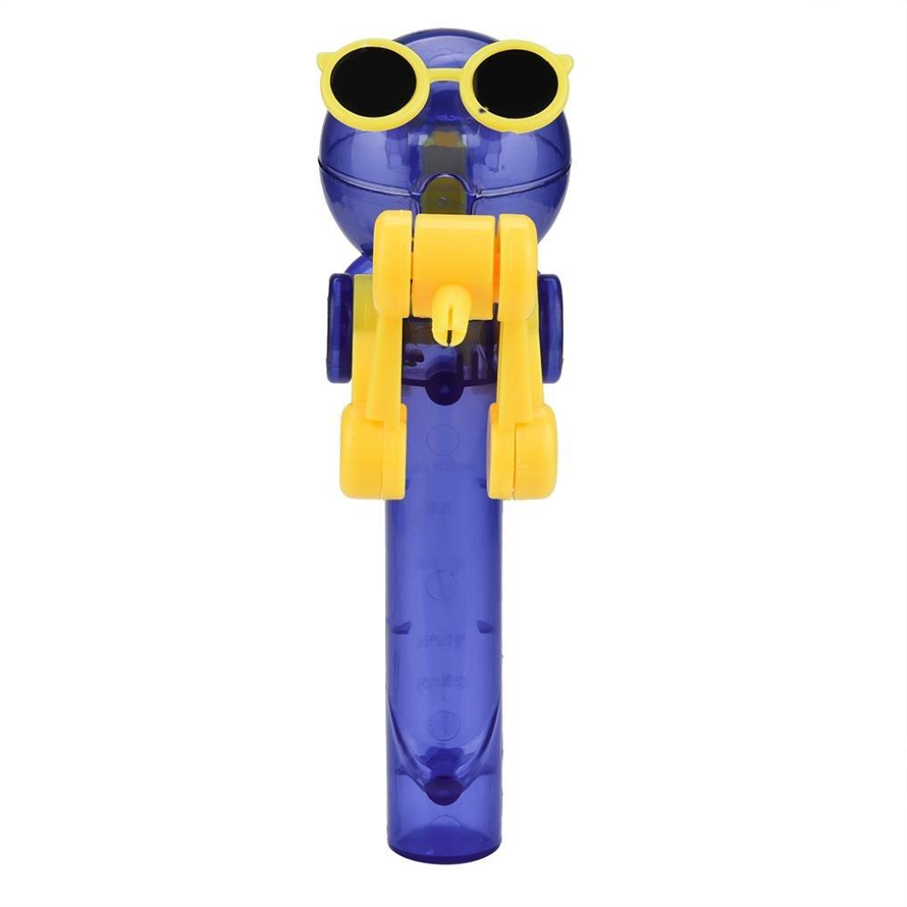 Dartphew Toys, ファッション 面白いアウトドア 面白い キッズ クリエイティブ ロリポップ アーティファクト おもしろい 食事 ロリポップ ロボットホルダー スタンド ギフト おもちゃ 赤ちゃん 子供 女の子 マルチカラー B07FBKBXLJ  イエロー