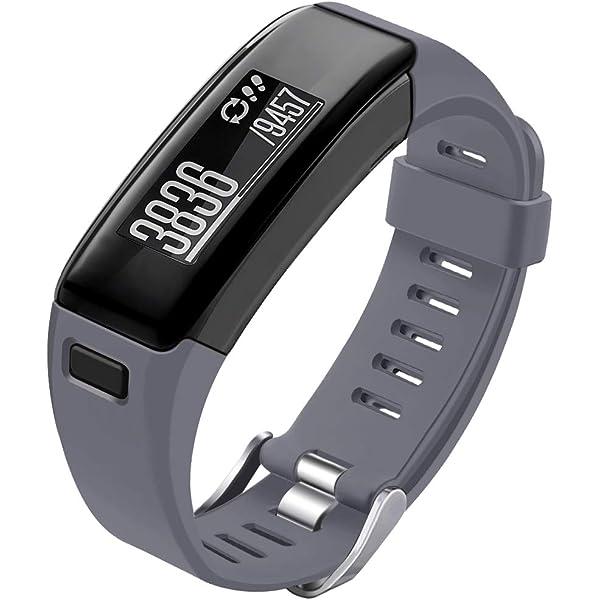Amazon.com: Garmin VivoSmart HR band-budesi silicona pulsera ...