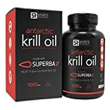 Best Krill Oils - Antarctic Krill Oil (Double Strength) 1000mg with Astaxanthin Review