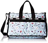 LeSportsac Medium Weekender Carry On, Love Letters Blue, One Size