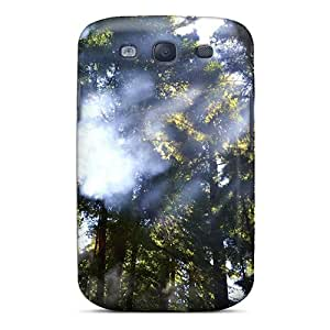 JeffMclaren Slim Fit Tpu Protector FFIpuxC1030fFTci Shock Absorbent Bumper Case For Galaxy S3