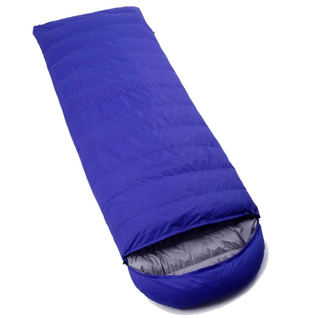 Sapphirebleu 3000g MISS&YG Sac de Couchage enveloppe Chaude et légère-avec Un Sac de Compression adapté aux activités de Voyage, de Camping, de randonnée, d'intérieur et de Plein air