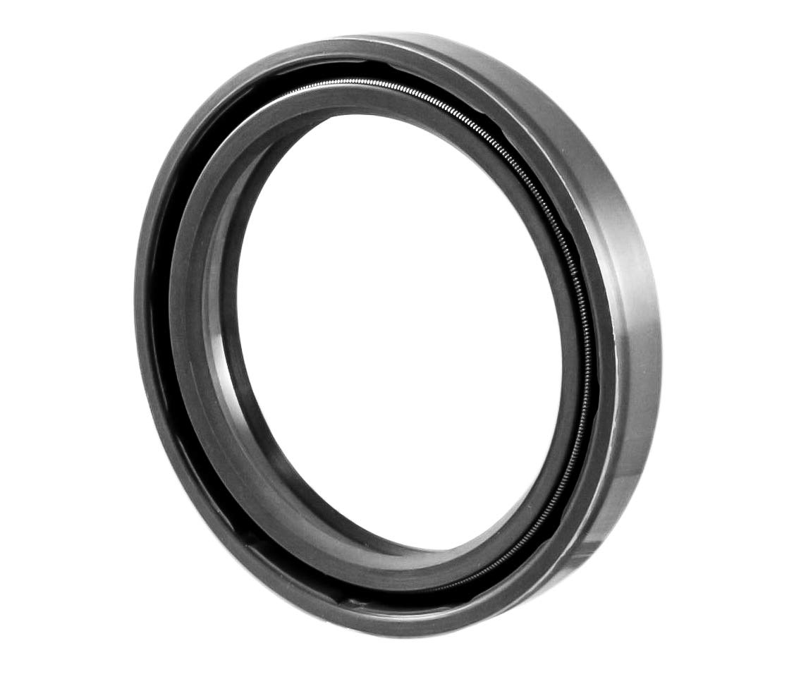 2 PCS 40mmX52mmX8mm Oil Seal 40X52X8 Oil Seal Grease Seal TC 1.575x2.047x0.315 EAI Double Lip w//Garter Spring Single Metal Case w//Nitrile Rubber Coating